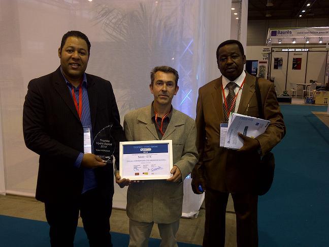 SOMEZ en collaboration avec E.T.E remporte le trophée Hydro Export collaborati